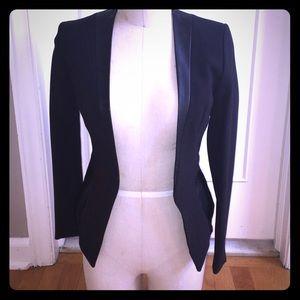 H&M Jackets & Coats - H&M faux leather trimmed blazer